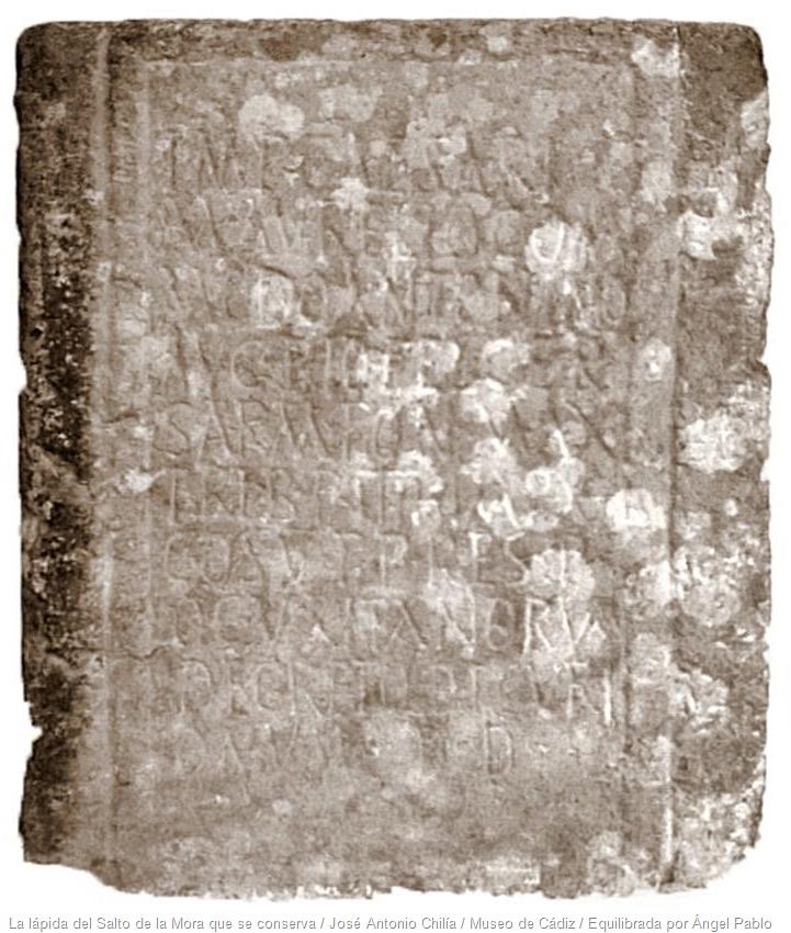 Lapida Cómodo Angel Pablo