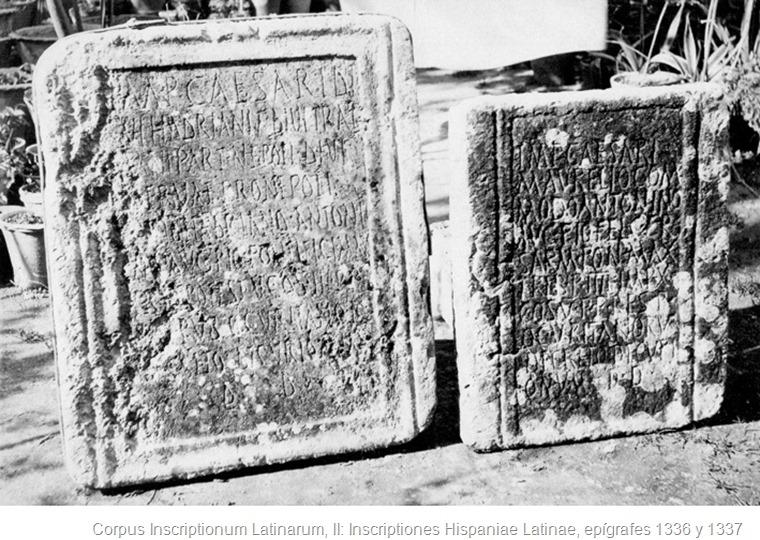 Lapidas de Ubrique CIL